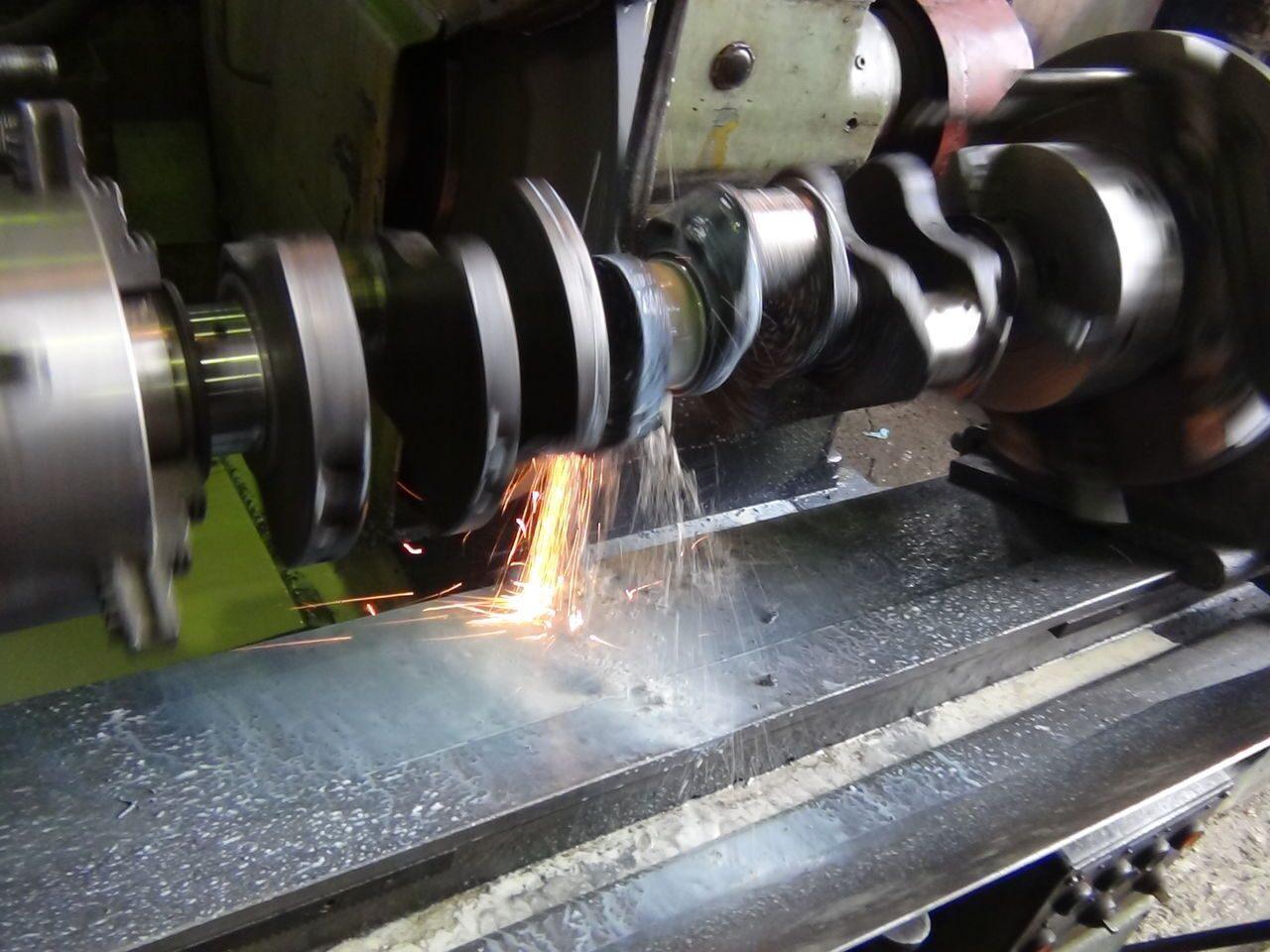 Шлифовка коленчатых валов (коленвалов) двигателей тракторов МТЗ, Москва ООО Ремэкс